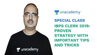 Special Class - IBPS Clerk 2019 - Proven Strategy with Important Tips & Tricks - Amar Sir