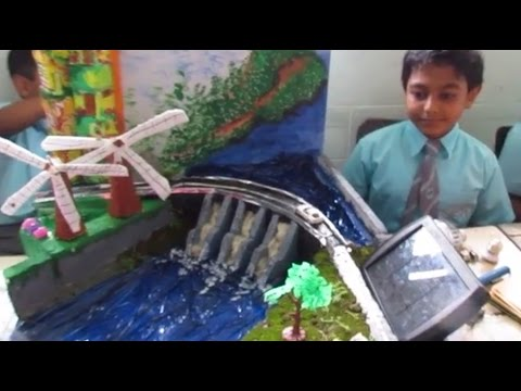 Grade 4 science project Green Future Renewable Energy