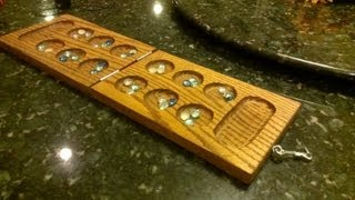 Building a Mancala Game Board Out of Wood