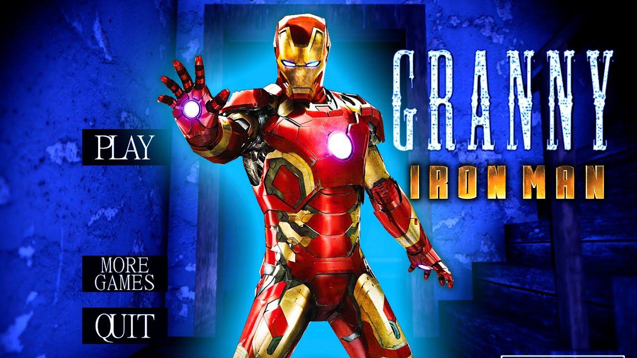Granny vs Iron Man secret in granny's house