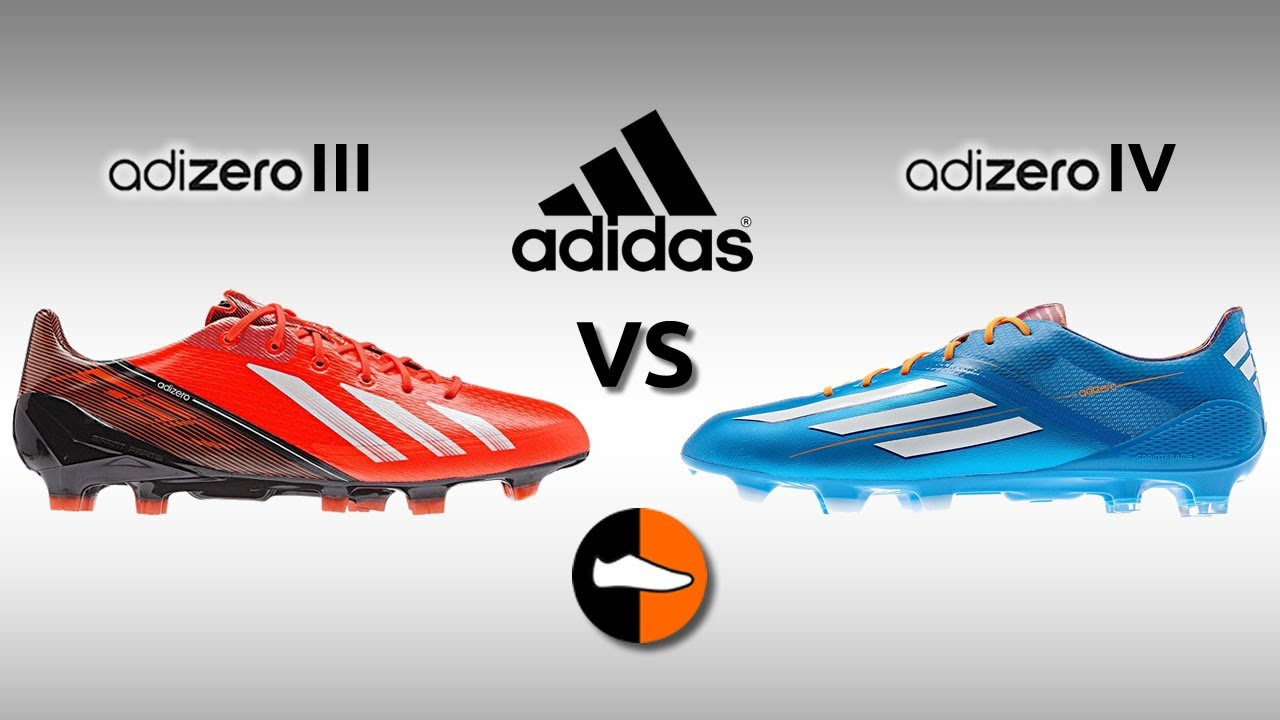 15fba9a9b What are the differences between the F50 adiZero III and IV boots ...