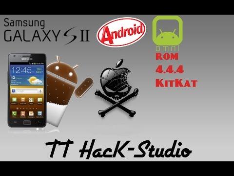 Galaxy S2 (GT-i9100) Omni Rom 4.4.4 KitKat Yuklemek Qaydasi!!