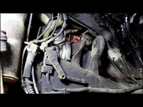 Снимаем турбину не отделяя кузов от рамы  3часть  Land Rover Discovery 3 Ленд Ровер Дискавери 3 2006