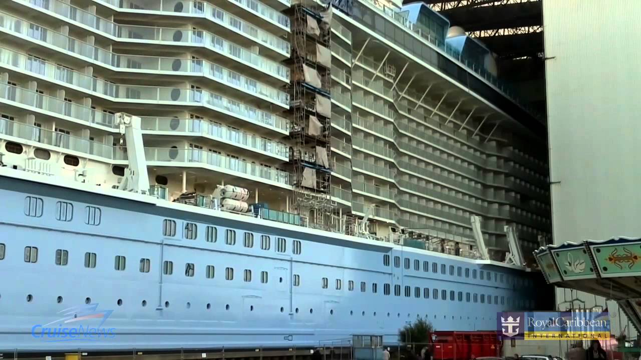 Time lapse Quantum of the Seas Float Out - YouTubeQuantum Of The Seas Float Out