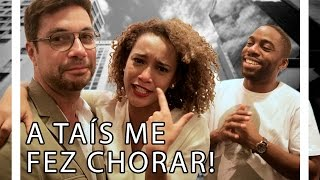 A TAÍS ARAÚJO ME FEZ CHORAR! FEAT. LÁZARO RAMOS E MARIANO JR. | TORQUATTO TV