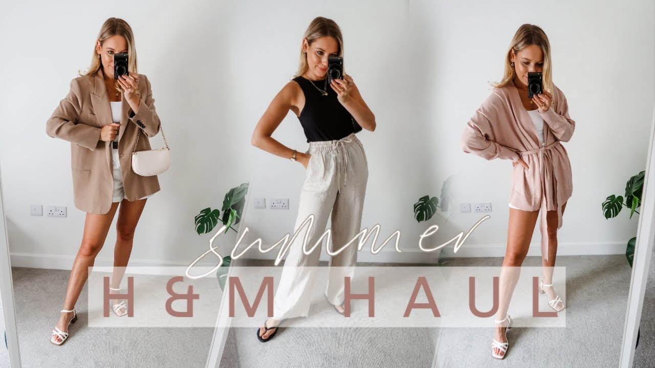 H&M SUMMER TRY ON HAUL! | *NEW IN* July 2020! | Charlotte Beer