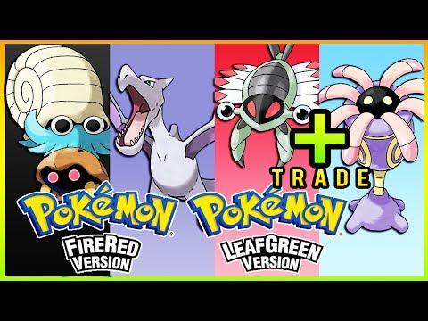 Pokemon FireRed & LeafGreen - How To Get Omanyte,Kabuto,Aerodactyl,Lileep & Anorith