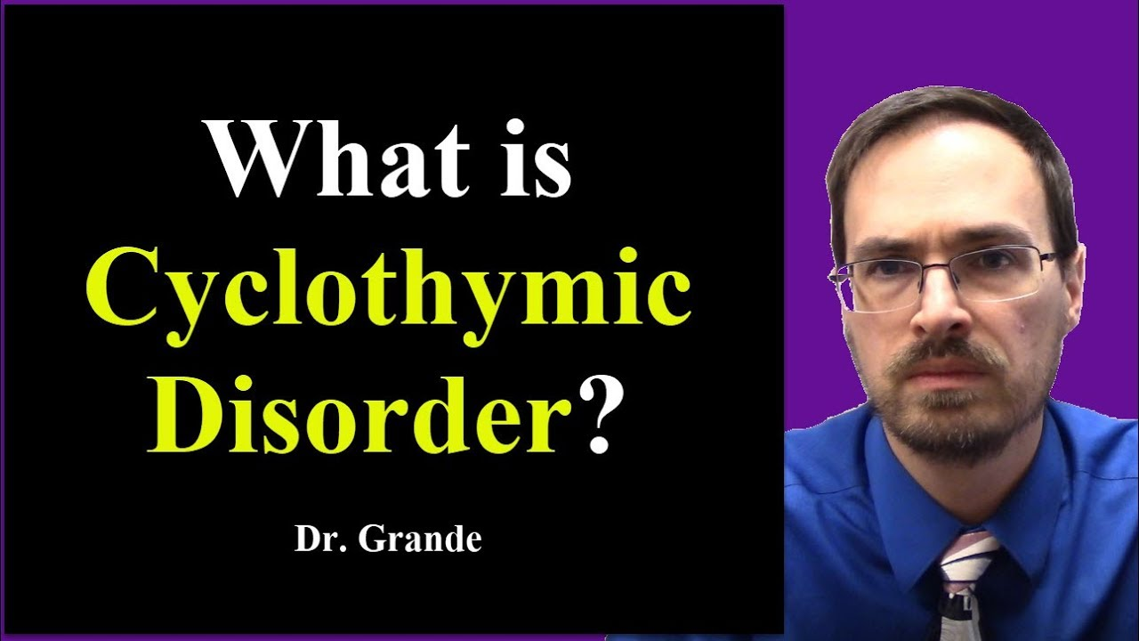 is cyclothymia a disorder Cyclothymic disorder is a mental disorder it is a mild form of bipolar disorder bipolar disorder, and cyclothymia often occur together in families.
