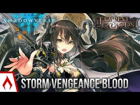 [Shadowverse] NGE Tournament Winner! - Storm Vengeance Bloodcraft Deck Gameplay (Sponsored)