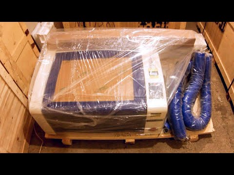 Видео Лазерный станок гравер 600х400мм 60W LASERSHOP.ORG