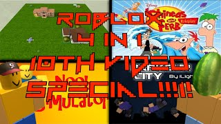 Roblox 4 in 1 Special!