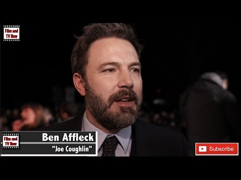 Ben Affleck discusses making classic gangster movie at Live By Night European Premiere