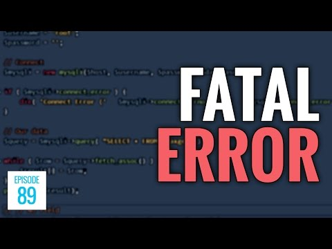 JMS089: PHP Fatal Error [FIX]: Call to a Member Function Fetch_Assoc On a Non-Object
