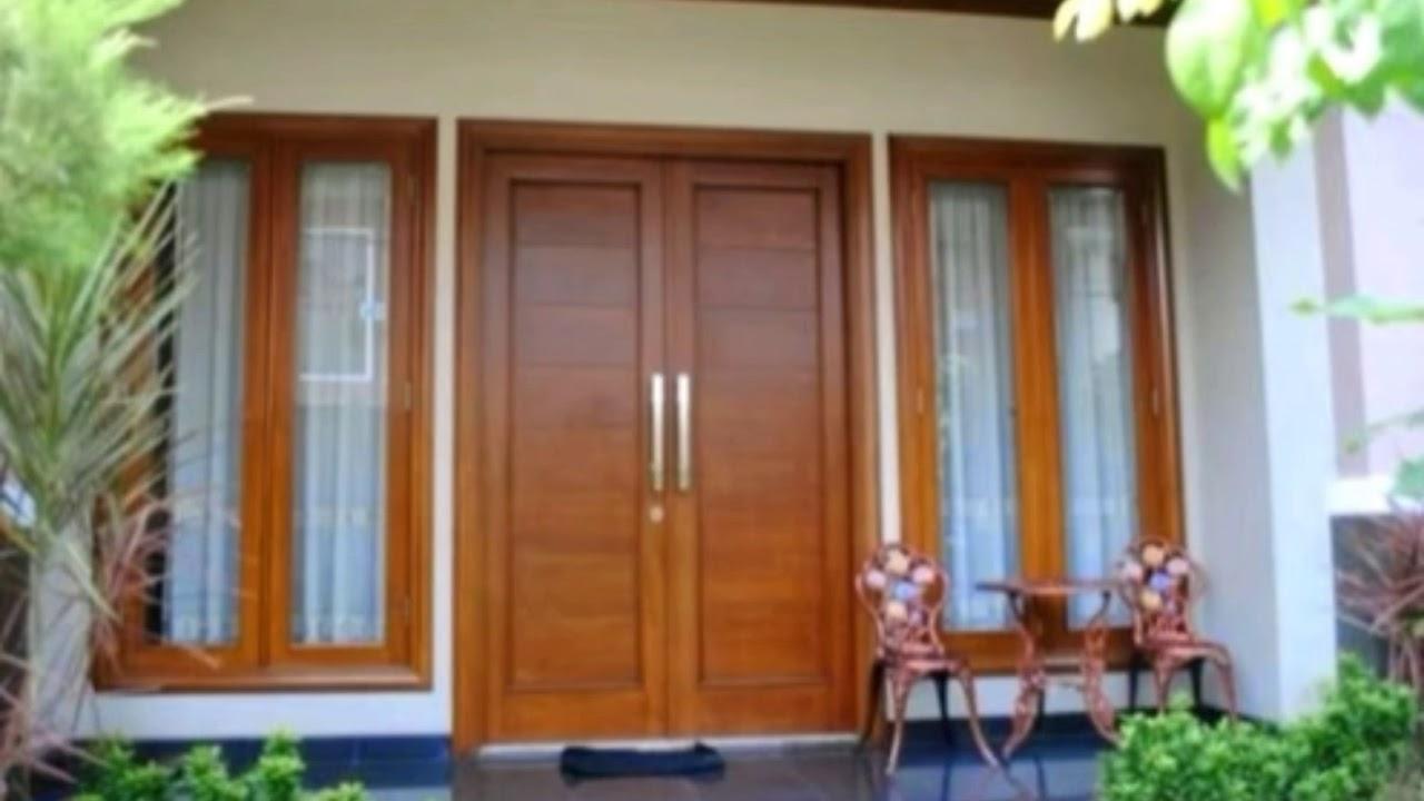 Desain Pintu Rumah Kupu Tarung Minimalis Youtube