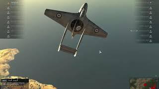 War Thunder Ace Flying.