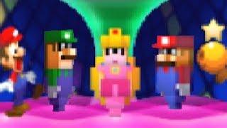 Mario Luigi Bowser S Inside Story 3ds All Special Attacks