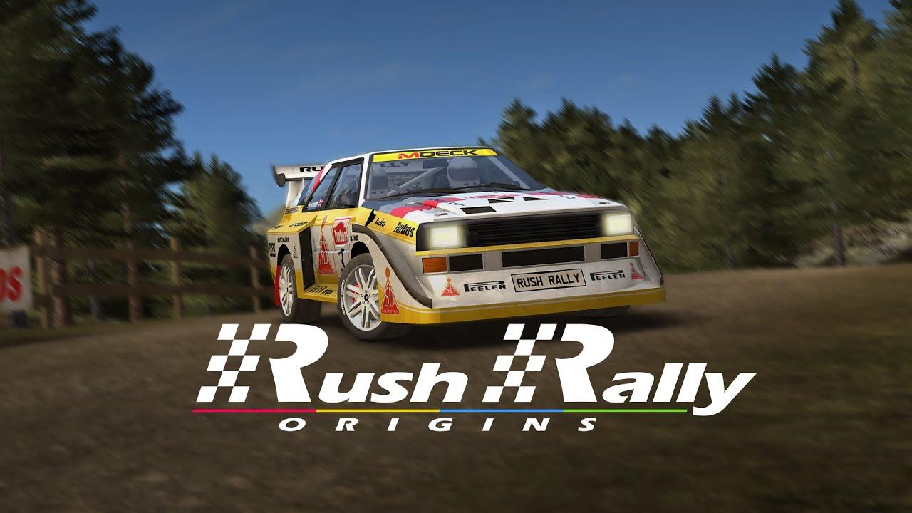 Rush Rally Origins App Preview | iOS | AppleTV | Android | Nintendo Switch | 2021