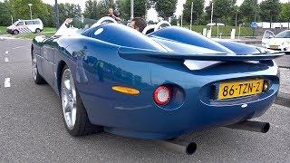 Jaguar XK180 D-Type Exhaust Sounds!