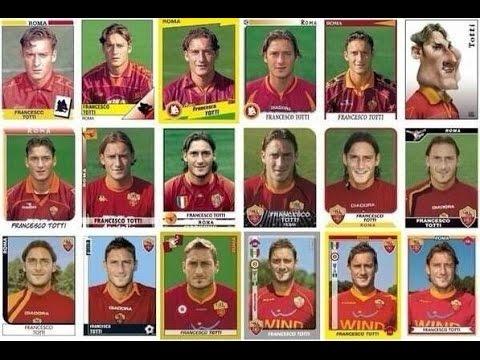 Francesco Totti - Tutte le maglie del Capitano