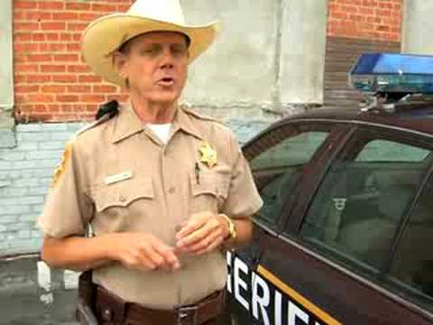 Interview with Sheriff Dearborne