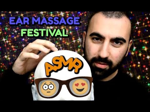 ASMR EAR MASSAGE FESTIVAL 🍿 Slow Hands, Gentle Touches