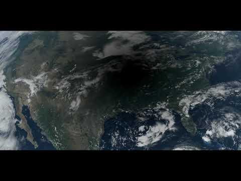 2017 Eclipse over North America 4k