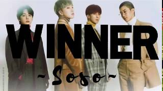 lirik lagu WINNER 위너 - SOSO lyrics lirik easy mudah