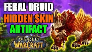 Unlocking Hidden Artifact Appearance - Feral Druid  (Moonspirit)