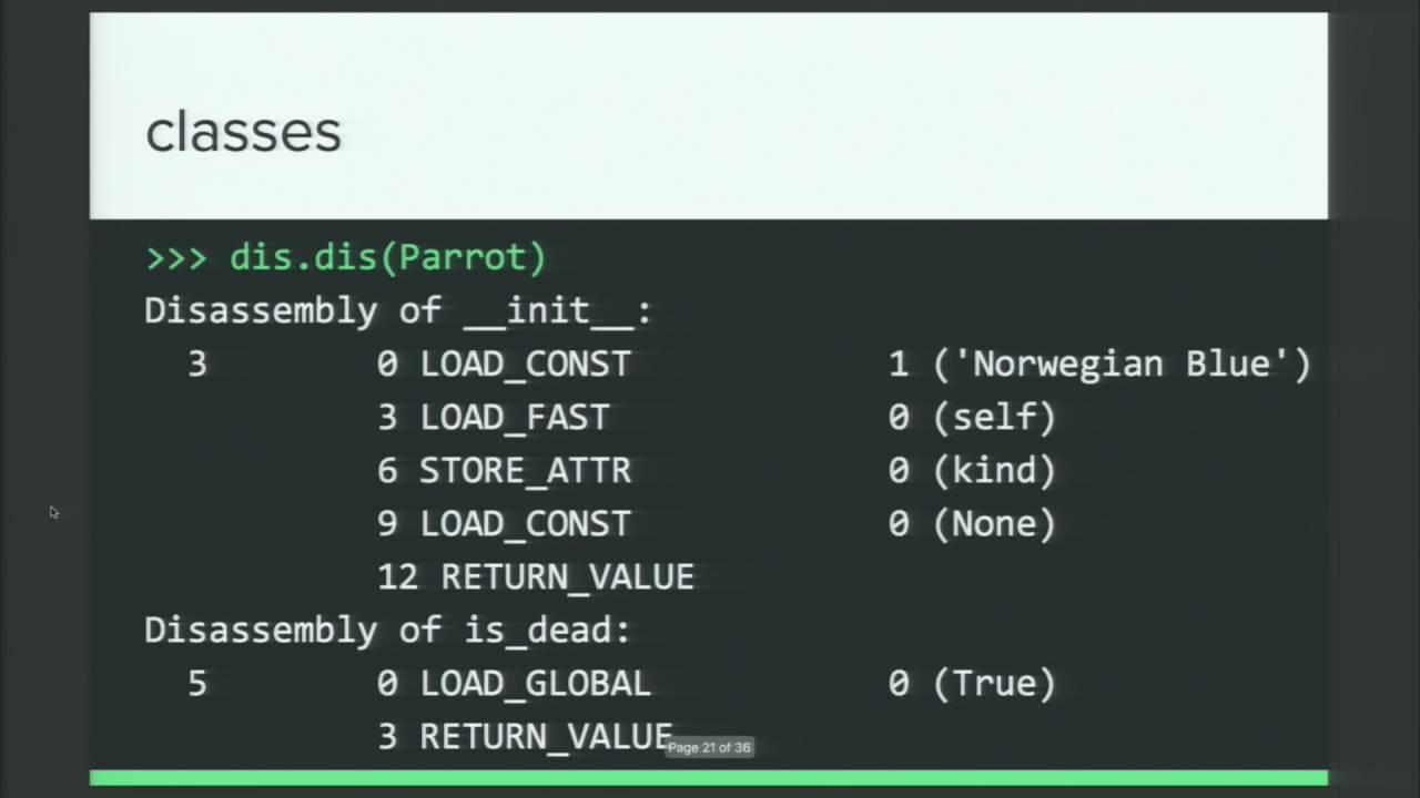 Image from Exploring Python Bytecode
