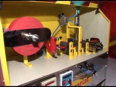SAMRAT : Binding Cloth Cutting & Gluing Machine