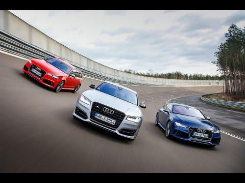 Audi RS6 Avant vs Audi RS7 Sportback vs Audi S8 - YouTube