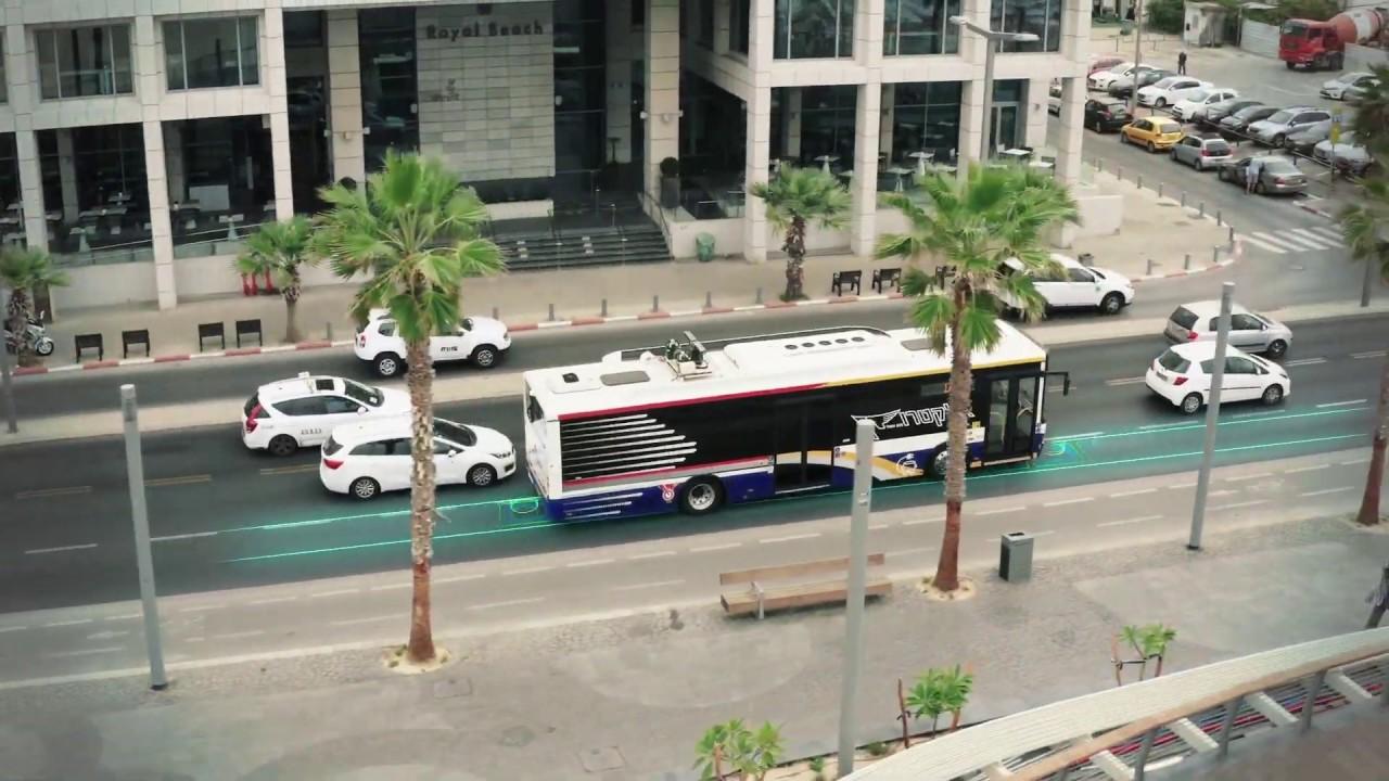 Tel Aviv første by med lading i asfalten