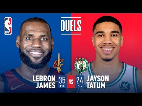 Jayson Tatum and LeBron James Duel In Eastern Conference Finals G7