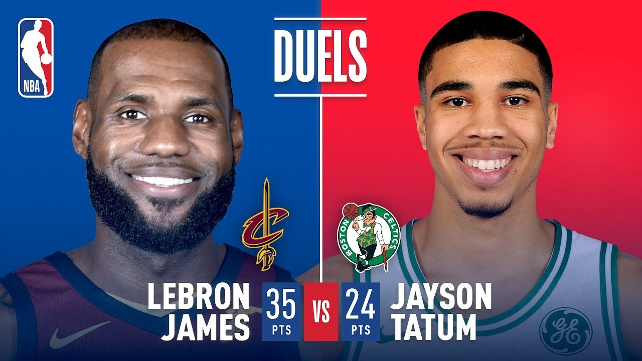 Jayson Tatum and LeBron James Duel In Eastern Conference Finals G7 - Clip.FAIL