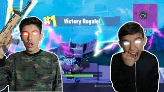 VICTORY ROYALE! Fortnite Battle Royale Best Duos With Little Brother!