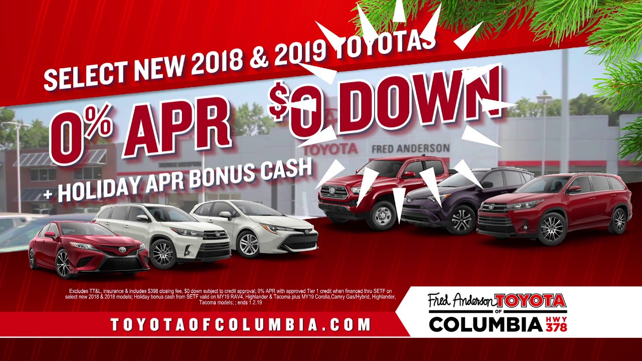 Fred Anderson Toyota Of Columbia Toyotathon