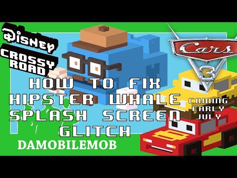 ★ DISNEY CROSSY ROAD | How to Fix Hipster Whale Glitch + Cars 3 Update Infos!