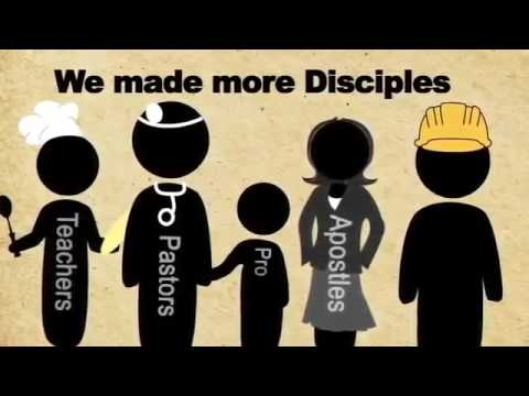 The Great Commission, go and make disciples. Spread the Gospel