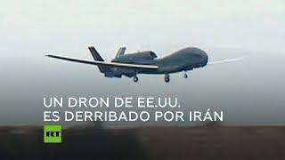 Tensión entre EE.UU. e Irán por el derribo de un dron estadounidense RQ-4 Global Hawk