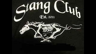 IS A STANG CLUB THANG!