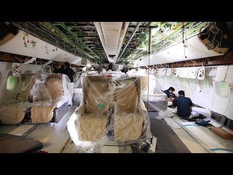 Boeing 777-200LR Reconfiguration | Emirates Airline
