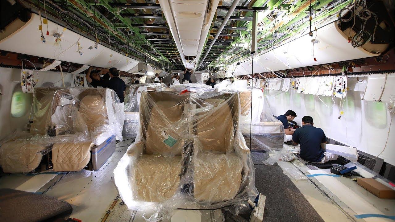 Boeing 777 200lr Reconfiguration Emirates Airline