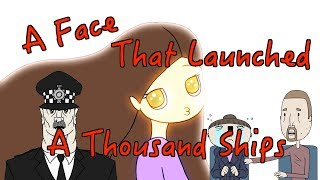 A Face That Launched a Thousand Ships (Animated British Comedy Sketch)