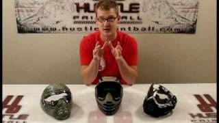 "All About Paintball Masks Part 1/4 - ""How do I choose a new mask?"" answered by HustlePaintball.com"