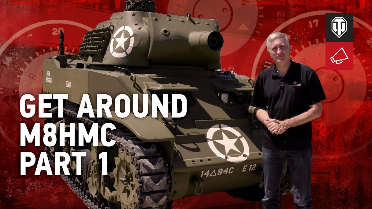 Download Inside The Chieftain's Hatch: 75 mm Howitzer Motor Carriage M8 (M8HMC) Pt.1 - World of Tanks