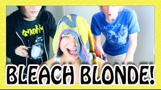 BLEACHING MY HAIR w/ BryanStars & Johnnie Guilbert