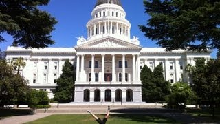 California State Capitol in Sacramento - Preview and All 58 County Displays - 2013