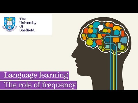 How we learn languages - Frequency