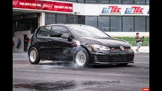Tyler Aul's MK7 GTI goes 10.11@142.7 MPH at Waterfest 23!