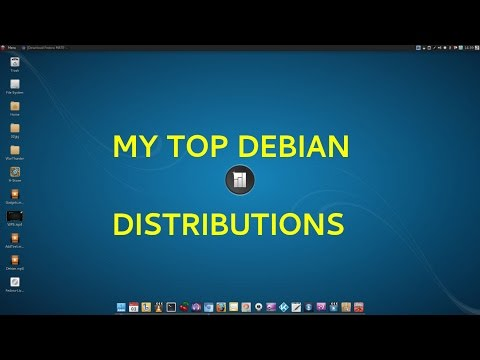 My Top Debian Distributions